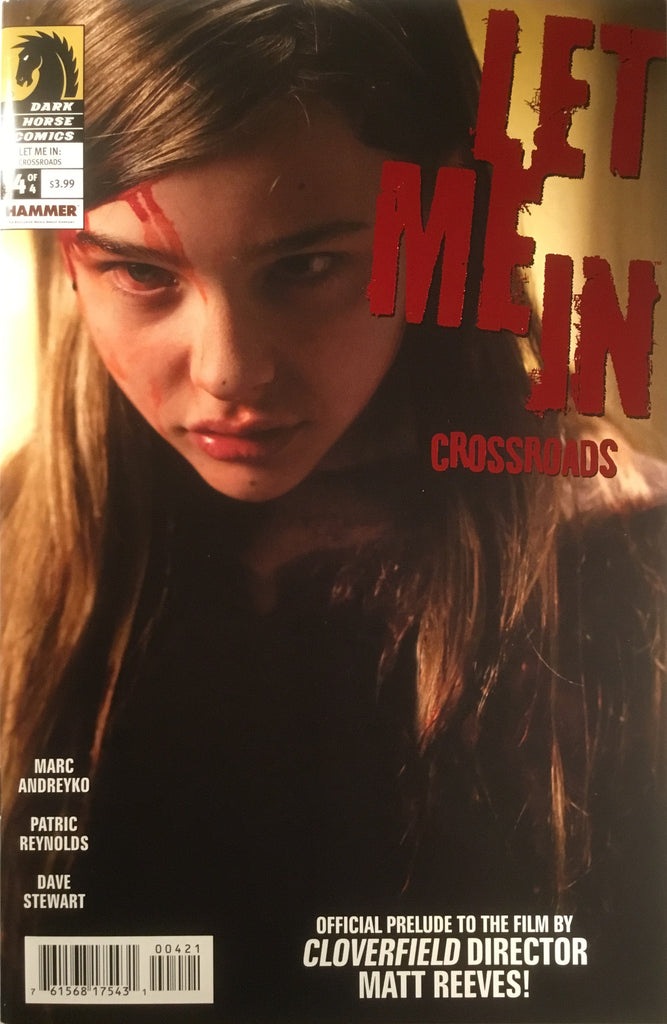 LET ME IN : CROSSROADS # 4 CHLOE GRACE MORETZ PHOTO COVER