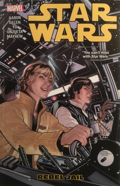 STAR WARS (MARVEL) VOL 03 REBEL JAIL GRAPHIC NOVEL