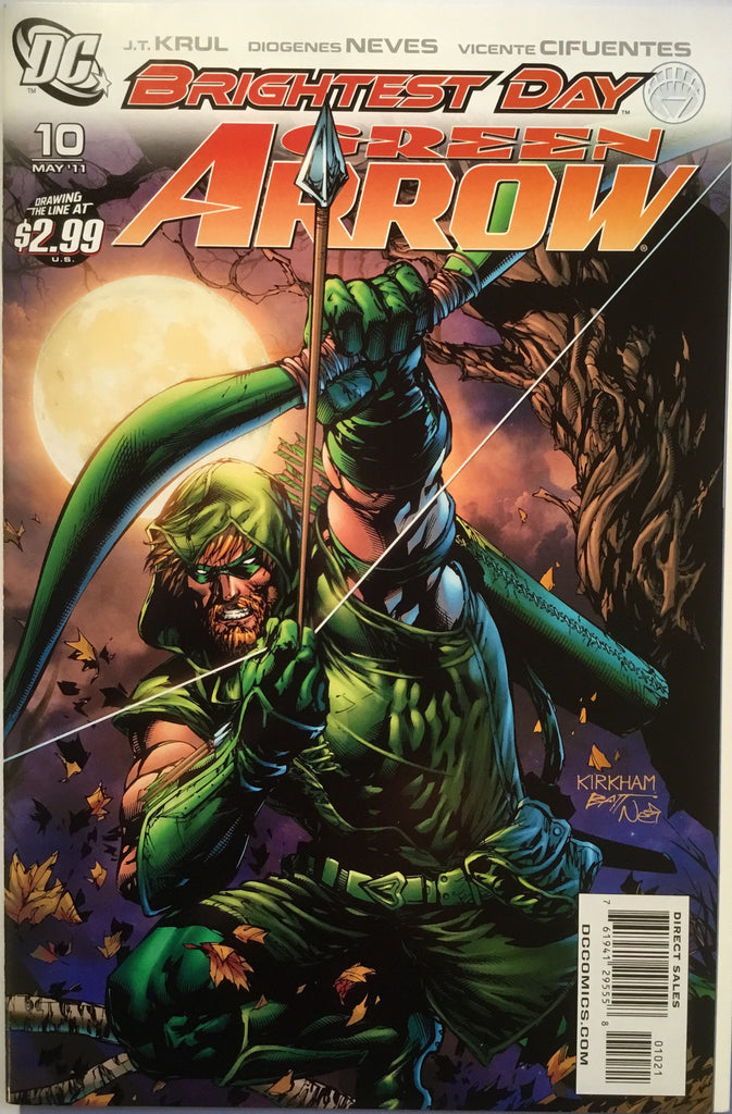 GREEN ARROW #10 (2011) 1:10 VARIANT - Comics 'R' Us