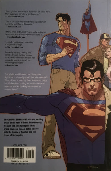 SUPERMAN BIRTHRIGHT GRAPHIC NOVEL