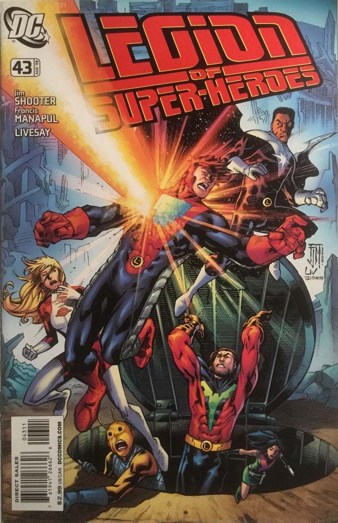 LEGION OF SUPER-HEROES (2005-2009) #43