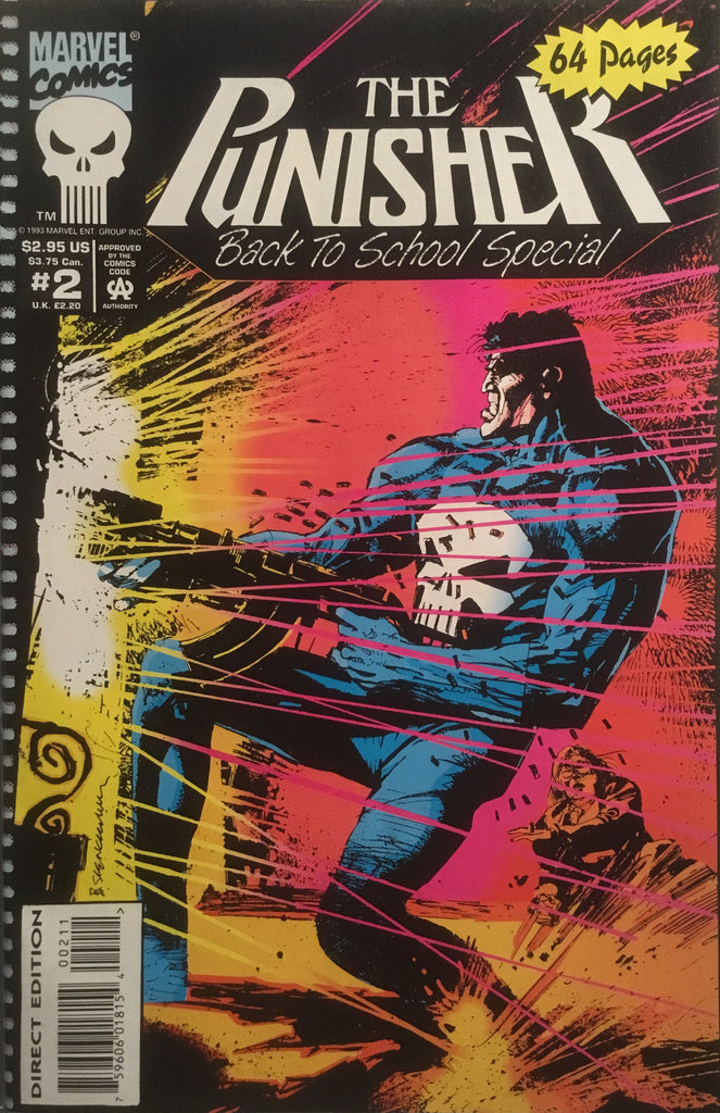 PUNISHER BACK TO SCHOOL SPECIAL # 2