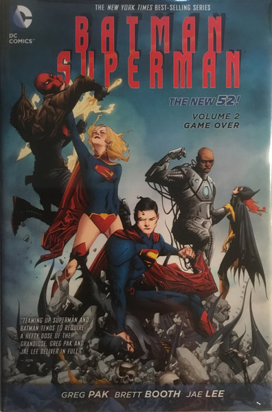BATMAN / SUPERMAN (NEW 52) VOL 2 GAME OVER HARDCOVER GRAPHIC NOVEL