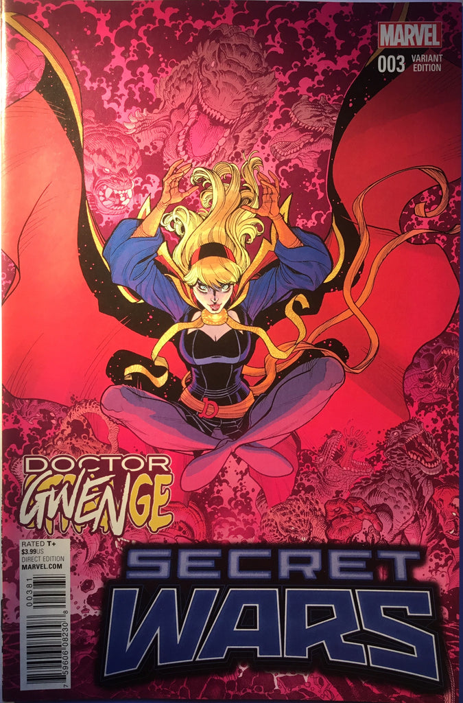 SECRET WARS # 3 DOCTOR GWENGE VARIANT COVER