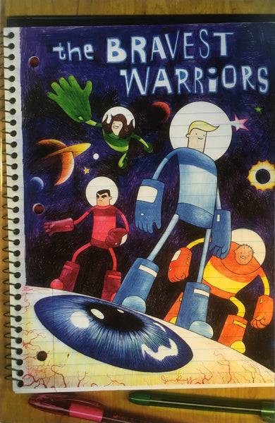 BRAVEST WARRIORS # 01 (1:20 VARIANT COVER) - Comics 'R' Us