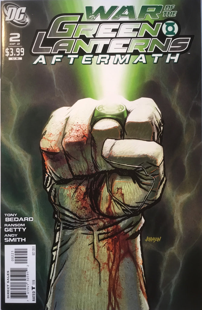 WAR OF THE GREEN LANTERNS AFTERMATH # 2 (1:10 VARIANT)