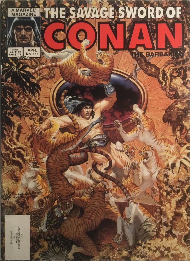 THE SAVAGE SWORD OF CONAN #111