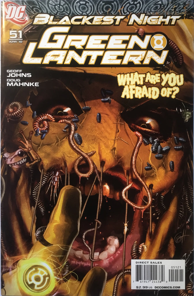 GREEN LANTERN # 51 (2005 SERIES) 1:25 VARIANT BLACKEST NIGHT - Comics 'R' Us