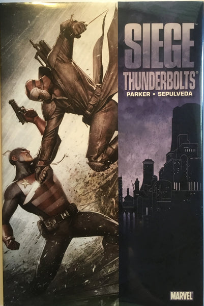 SIEGE THUNDERBOLTS HARDCOVER GRAPHIC NOVEL