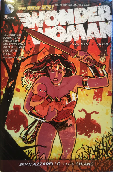 WONDER WOMAN (NEW 52) VOL 3 IRON HARDCOVER GRAPHIC NOVEL