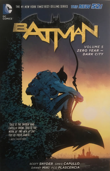 BATMAN (NEW 52) VOL 5 ZERO YEAR DARK CITY GRAPHIC NOVEL - Comics 'R' Us