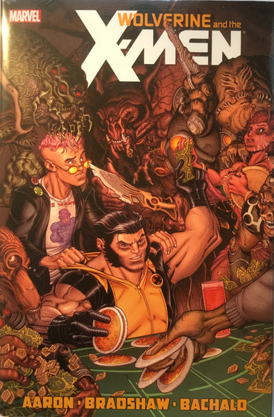 WOLVERINE & THE X-MEN VOL 2 HARDCOVER GRAPHIC NOVEL