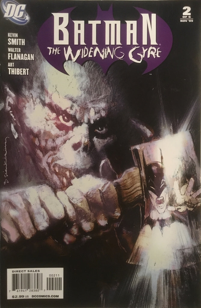 BATMAN THE WIDENING GYRE # 2
