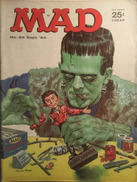MAD MAGAZINE (USA) # 89