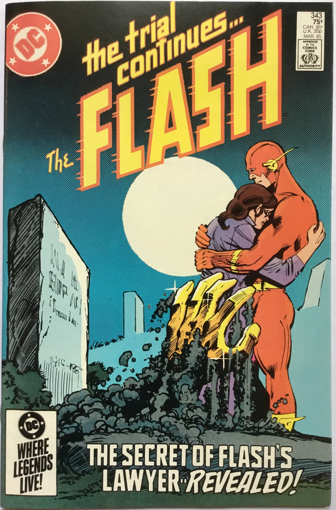 FLASH # 343 - Comics 'R' Us
