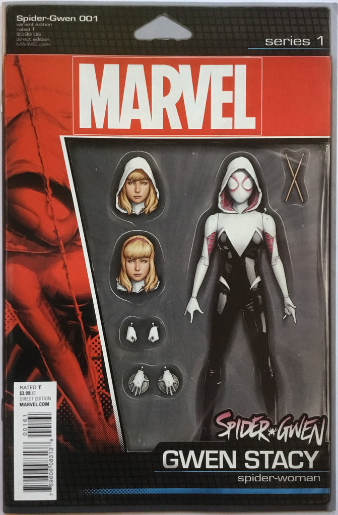 SPIDER-GWEN (2015) # 1 ACTION FIGURE VARIANT COVER