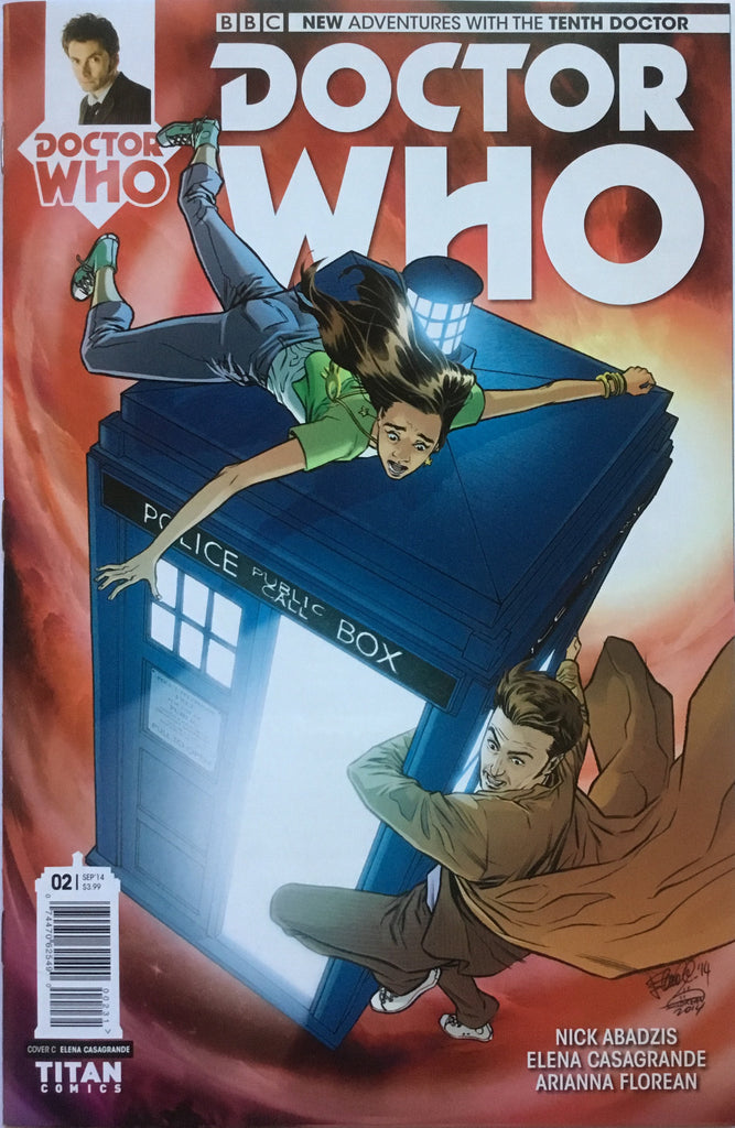 DOCTOR WHO THE 10TH DOCTOR # 2  (1:10 VARIANT) - Comics 'R' Us