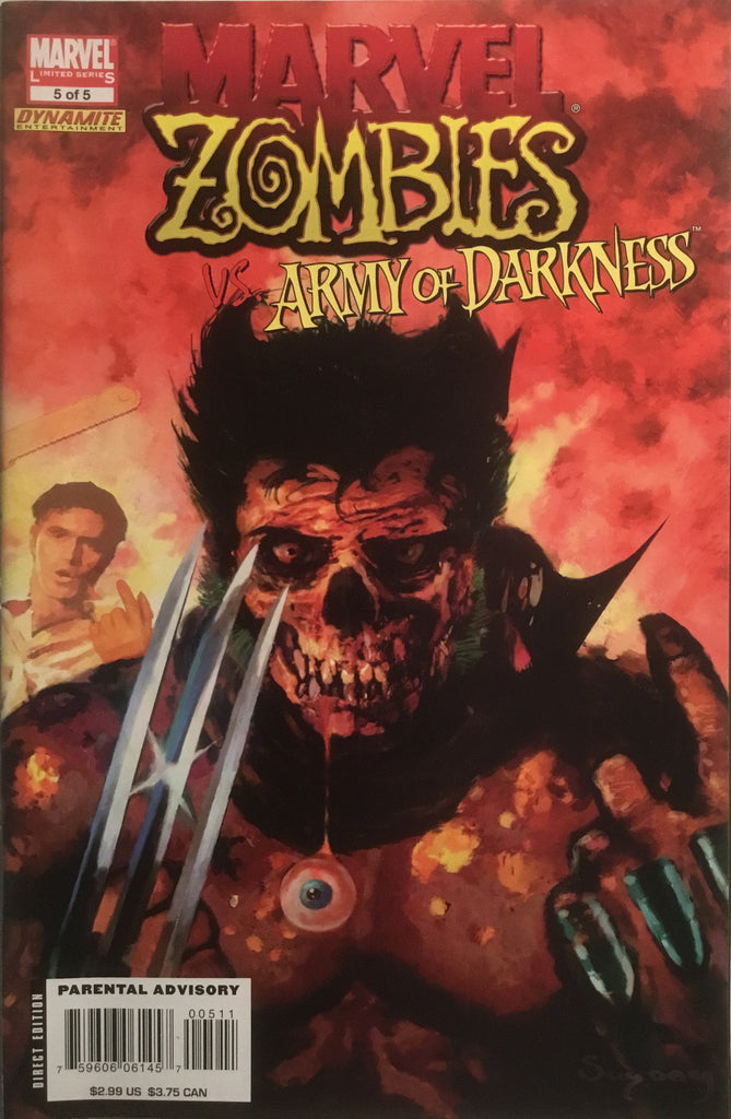 MARVEL ZOMBIES VS ARMY OF DARKNESS # 5