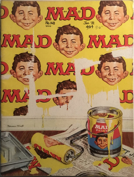 MAD MAGAZINE (USA) #148