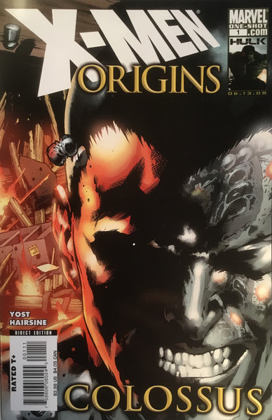 X-MEN ORIGINS COLOSSUS ONE-SHOT