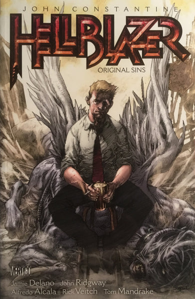 HELLBLAZER VOL 01 ORIGINAL SINS GRAPHIC NOVEL