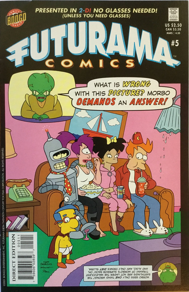 FUTURAMA COMICS # 5 - Comics 'R' Us