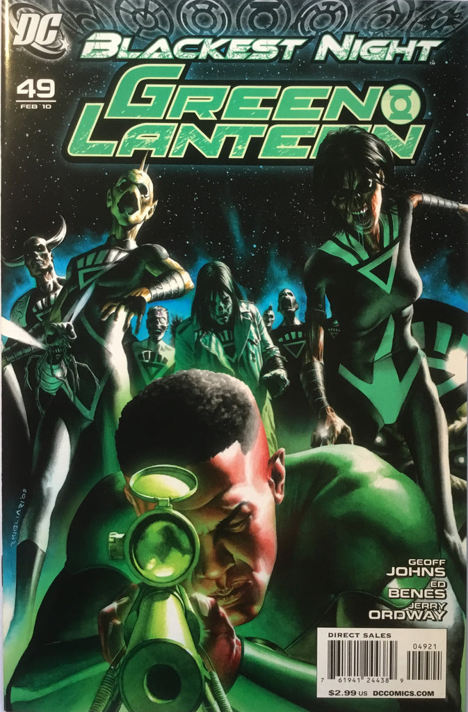 GREEN LANTERN # 49 (2005 SERIES) 1:25 VARIANT BLACKEST NIGHT - Comics 'R' Us