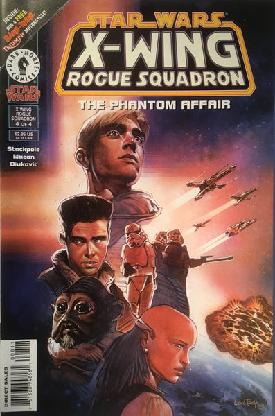 STAR WARS X-WING ROGUE SQUADRON : THE PHANTOM AFFAIR # 4