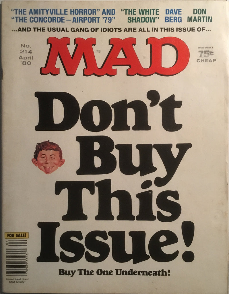 MAD MAGAZINE (USA) #214