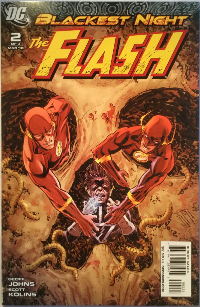 FLASH BLACKEST NIGHT # 2 (1:25 VARIANT) - Comics 'R' Us
