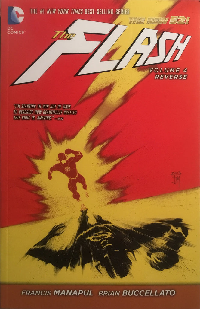 FLASH (NEW 52) VOL 4 REVERSE GRAPHIC NOVEL