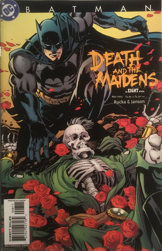 BATMAN DEATH AND THE MAIDENS # 8