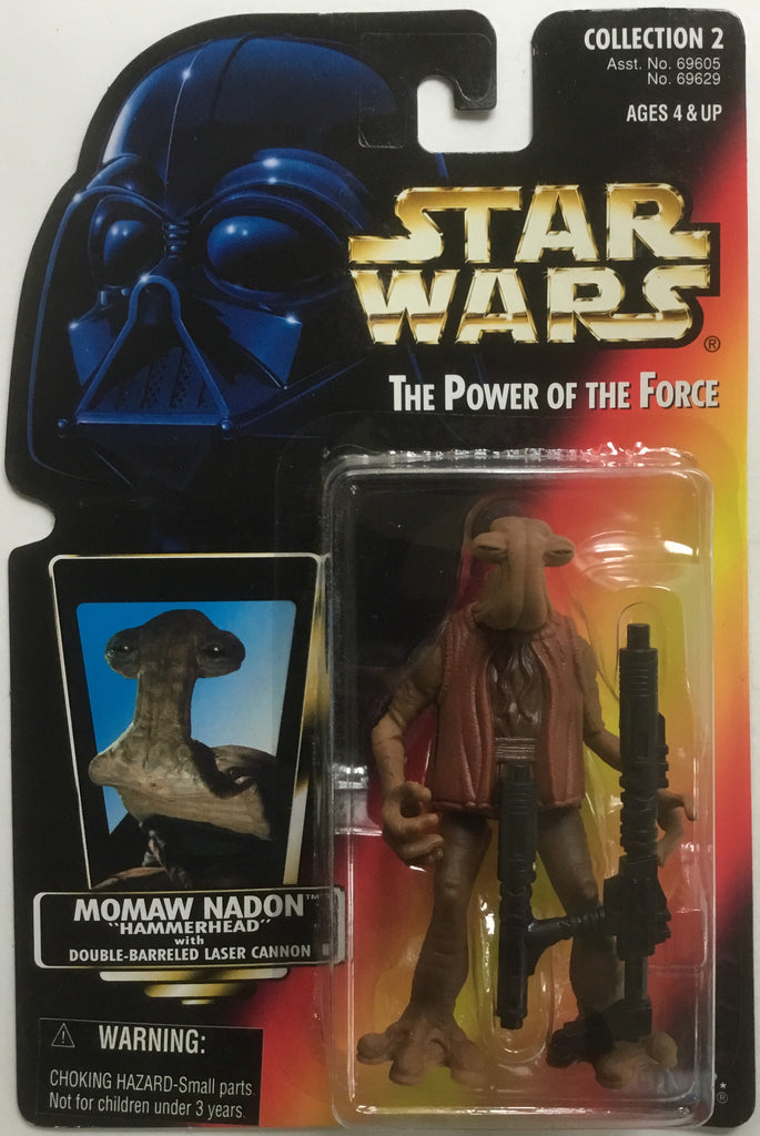 "STAR WARS MOMAW NADON ""HAMMERHEAD"" ACTION FIGURE 1996"