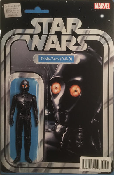 STAR WARS DARTH VADER #24 TRIPLE-ZERO ACTION FIGURE VARIANT COVER