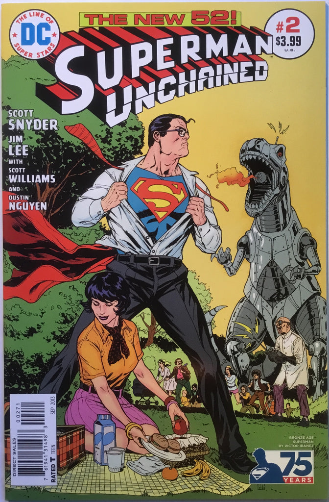 SUPERMAN UNCHAINED # 2 IBANEZ 1:50 VARIANT