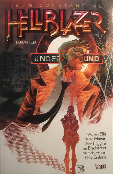 HELLBLAZER VOL 13 HAUNTED GRAPHIC NOVEL
