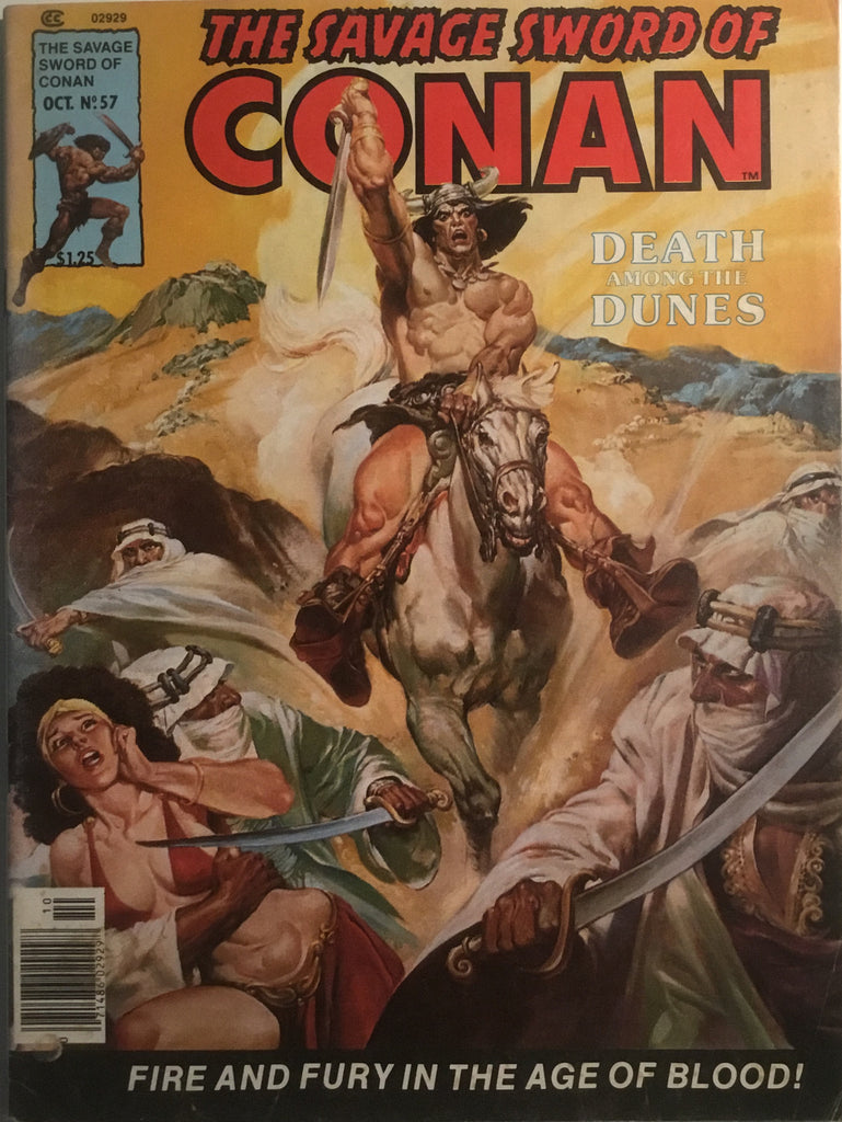 THE SAVAGE SWORD OF CONAN # 57