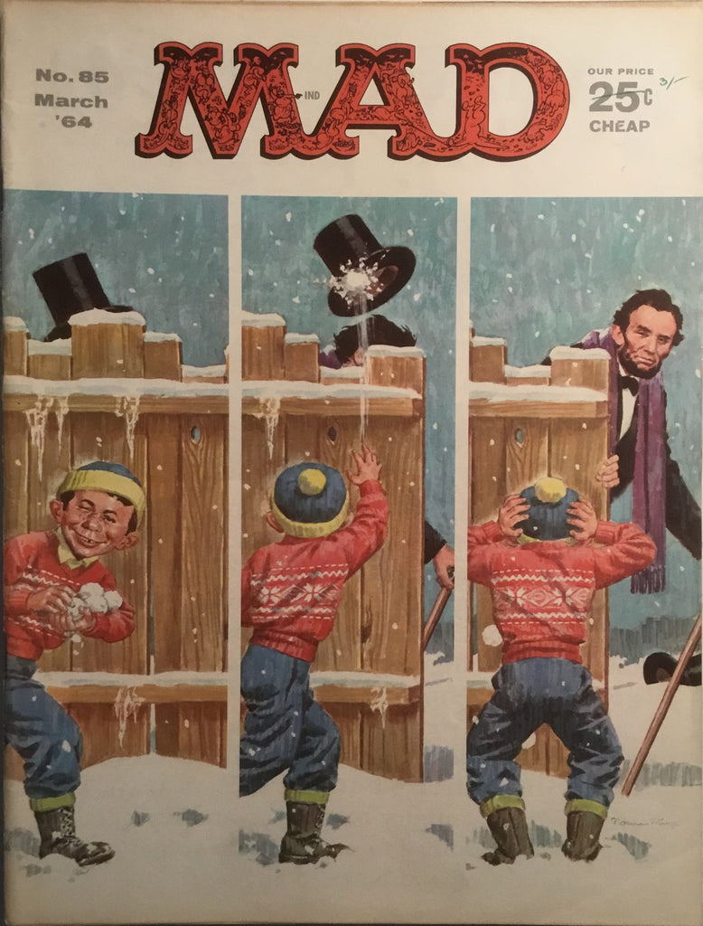 MAD MAGAZINE (USA) # 85