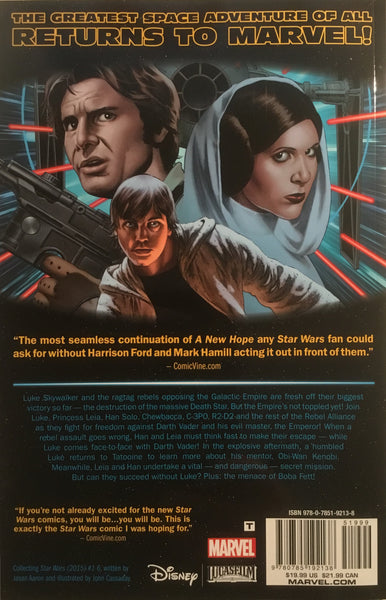STAR WARS (MARVEL) VOL 1 SKYWALKER STRIKES GRAPHIC NOVEL