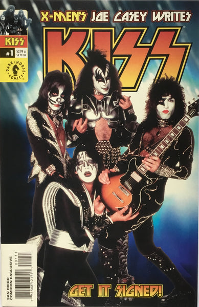KISS # 1 SAN DIEGO COMICON EXCLUSIVE
