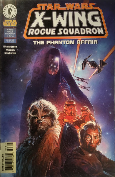 STAR WARS X-WING ROGUE SQUADRON : THE PHANTOM AFFAIR # 3