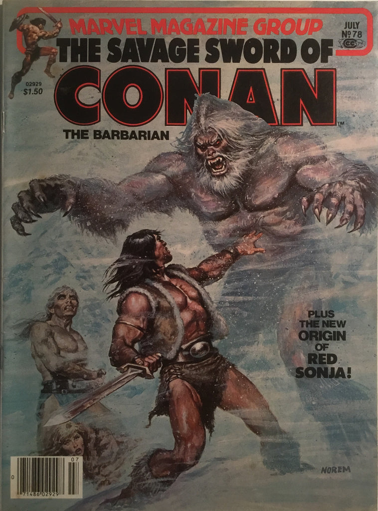THE SAVAGE SWORD OF CONAN # 78