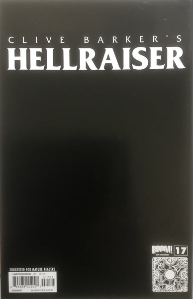 HELLRAISER #17 BRADSTREET VIRGIN COVER (1:10 VARIANT)