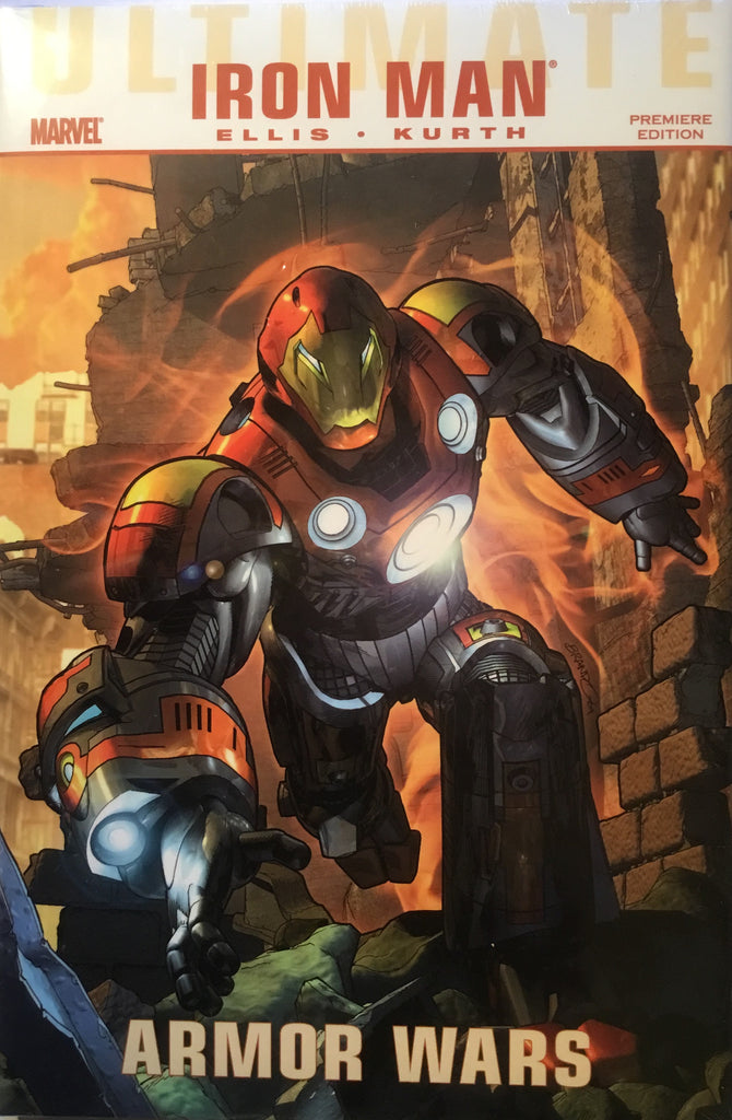 ULTIMATE COMICS IRON MAN : ARMOR WARS HARDCOVER GRAPHIC NOVEL