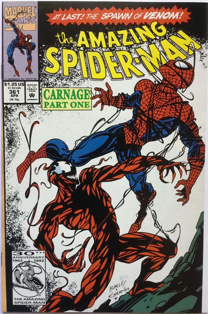 AMAZING SPIDER-MAN # 361 - Comics 'R' Us