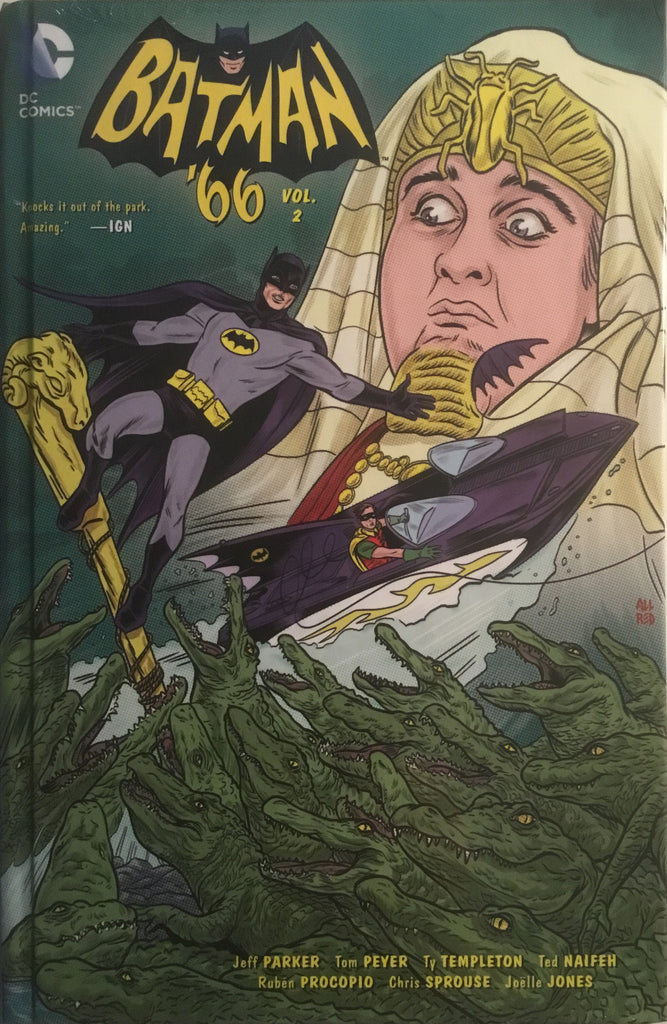 BATMAN '66 VOL 2 HARDCOVER GRAPHIC NOVEL