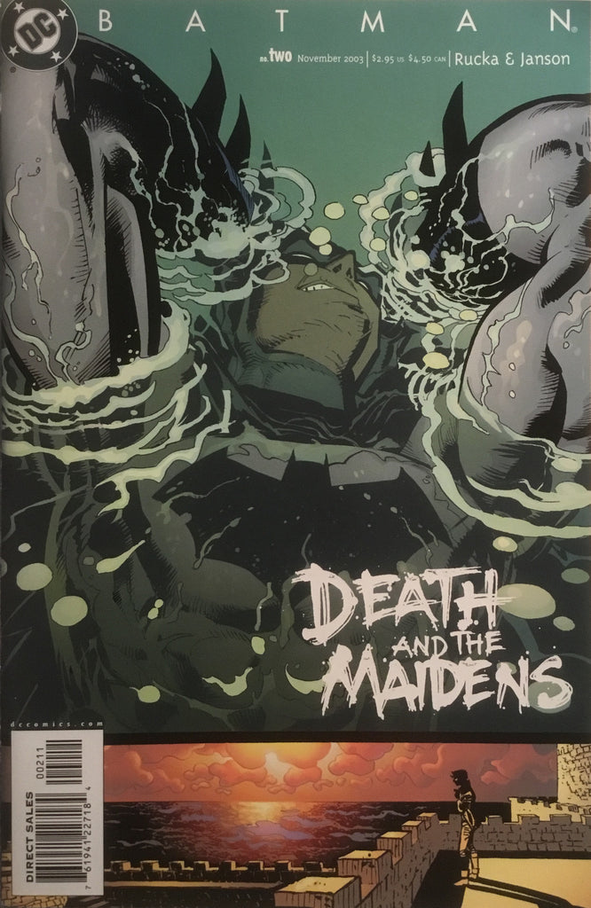 BATMAN DEATH AND THE MAIDENS # 2