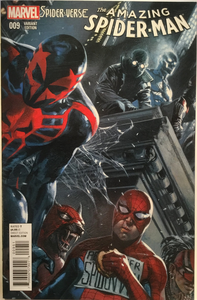 AMAZING SPIDER-MAN # 9 (2015) DELLOTTO 1:15 VARIANT - Comics 'R' Us