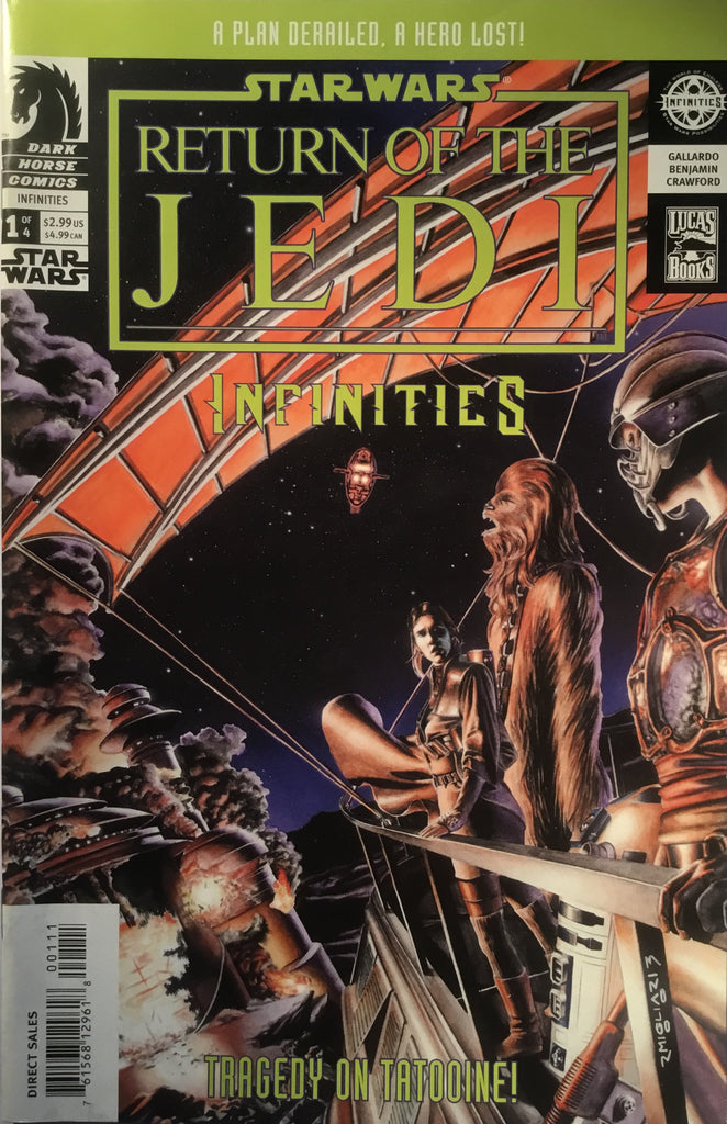 STAR WARS RETURN OF THE JEDI INFINITIES # 1