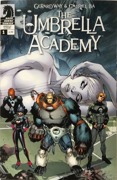 THE UMBRELLA ACADEMY SERIES 2 DALLAS  # 1 JIM LEE VARIANT COVER